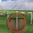 Zemní vruty pro fotovoltaiku (solární panely)