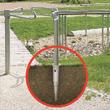Zemní vruty pro městské a veřejné stavby
