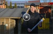 Video se zemními vruty Krinner pořadu Rady ptáka Loskutáka